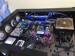 Lian Li Computer Desk by Lian Li Dk Q2 Build Album On Imgur