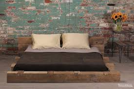 Industrial Style Bedroom Rustic Interior At