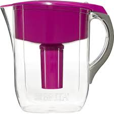 Brita Water Faucet Filter Troubleshooting by Brita 10 Cup Filtered Water Pitcher In Violet 6025835475 The
