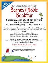 Barnes & Noble Book Fair Chamber merce Greater Bay Shore