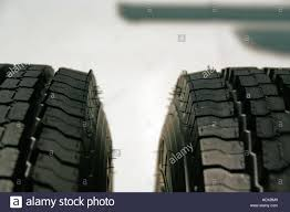 100 New Truck Tires Brand New Truck Tire Tires Truck Tires Stock Photo