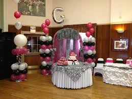 Home Design Party Decorations For Quinceaneras Foyer Shed The Elegant Pertaining