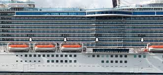 Grand Princess Deck Plan by How Bad Is An