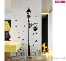 road l wall decal sticker zebra cat road light