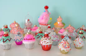 Cupcake Christmas Ornament Collection MyMommaToldMe