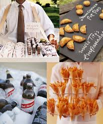 Fun Catering Ideas For Weddings Wedding Food And Beverage Old New Borrowed Blue