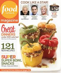 Get Food Network Magazine And Recipes January February 2013 How