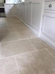Types Of Natural Stone Flooring by Paris Grey Limestone Tiles For A Durable Kitchen Floor Light Grey