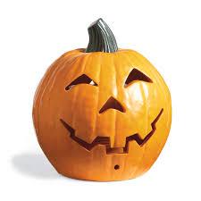 Fiber Optic Pumpkin Head Scarecrow by Morphing Halloween Pumpkin The Green Head