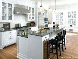 modele cuisine modale de cuisine ouverte cuisine americaine avec ilot modele