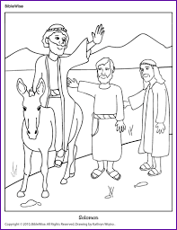 King Josiah Coloring Page Pages