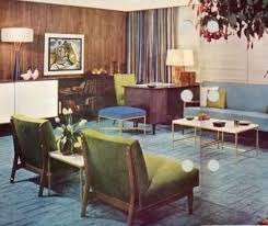 1950s House Interior Posted By Atomic Ranch At Am Home Decor Uk