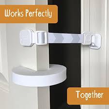 Door Buddy Child Door Lock and Foam Baby Door Stopper Baby