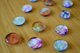 Recycled Art Teacher Appreciation Magnets
