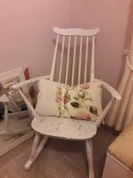 Shabby Chic Rocking Chair | In Newcastle, Tyne And Wear | Gumtree Shabby Chic Bentwood Style Rocking Chair Home Sweet Home White Shabby Chic In Pontprennau Cardiff Gumtree Chairs Rocking Chair With High Back Wood Amazoncom Eucalyptus Wood Modern Farmhouse Whitewash Vintage Used Antique Chairs For Chairish Hitchcock Ville Dollhouse Perfect Addition To Any Dollhouse Room Appealing Shabtique Fniture By Kasia Page Painted White Nursery Farnborough Hampshire Miniature Wooden For Your Etsy Petite Primitive Oklahoma City Garage Sale Illustration Of A With Design Royalty