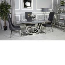 Grey Marble And Chrome Dining Set Dark Including Chairs Room ... Luxury Ding Room Appliance Home Fitment Fniture Fitting Chairsleather Theater Rollback Chair Black Leather Chairs Modern Details About Small 3 Piece Set Table And Kitchen Faux Marble China Custom Designed Hotel For Contemporary Table Bronze Leather Marble Omega T 185 Italy Brand Sets With Buy Setmarble Prices Product Mia Ceramic And Finley Chair Hot Item Ybs765 Interior Foreground Wooden Stock Photo Fashion Classic Stainless Steelleather Ding Chairsliving Room Chairblack White Metal Fniture