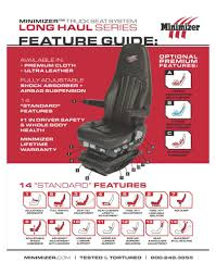 Seatfeatureguide-2_page_1   Minimizer Semi Truck Seats Compare Prices At Nextag Car Seat Car Seats Covers Pixelated Chevron Seat Set Of Volvo Fh Traing Vehicle With Rather Than A Bunk Trucks Amazoncom Group Universal Fit Flat Cloth Pair Bucket Cover New Truck Chevy Best Image Kusaboshicom Bestfh Suv Pu Leather Cushion Front 11 Racing For Your Sports 2018 Lweight Race Heres What Its Like To Sit In The New Tesla Tecrunch Detailing Cloud 9 Detail Utahs Mobile Sfeatureguide2_page_1 Minimizer Elite 2019 20 Top Models