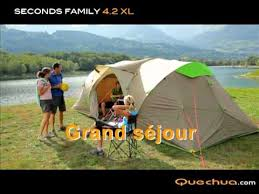 tente 4 places 2 chambres seconds family 4 2 xl quechua fr quechua tente seconds family 4 2xl