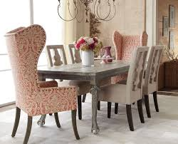 Glamorous Wingback Chairs In Dining Room Traditional With Wing Chair Next To Seagrass Alongside High Back And