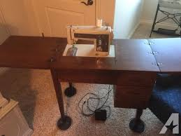 vintage sears kenmore sewing machine with cabinet for sale in