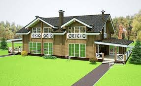 maison bois lamelle colle en bois lamellé collé pour deux familles superficie 507 m