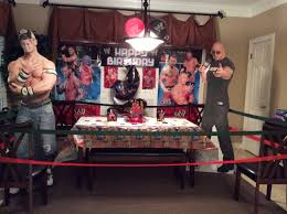Wwe Diva Room Decor by Wwe Birthday Idea Make The Birthday Party Are A Ring With The
