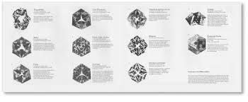 MC Escher Kaleidocycles