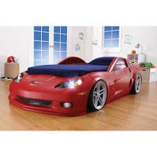 Toddler Bed Rails Target by Step2 Corvette Convertible Toddler To Twin Bed With Lights Red
