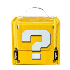 buy super mario question mark block amiibo carry case on