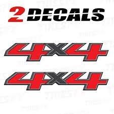 100 Truck Bed Parts 4x4 Decals F Stickers Chevy Silverado GMC Sierra