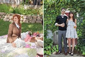 Christina Hendricks At A Wedding
