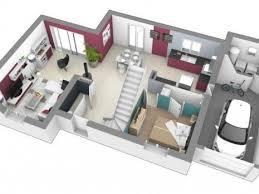 plan maison 4 chambres etage maison à etage 3 à 4 chambres construction maison design à etage