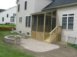 Patio And Deck Combo Ideas by Gallery Of Deck Patio Combination Catchy Homes Interior Design Ideas