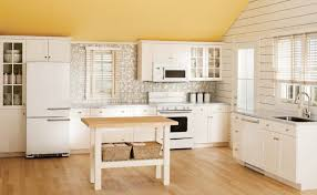 KitchenAdorable 50s Diner Style Kitchen Contemporary Ideas Retro Units