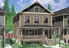 Small Narrow House Plans Colors Stacked Duplex House Plans Floor Plans