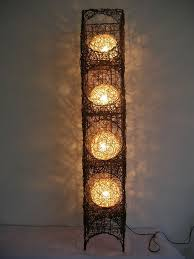 Lovely Ideas For Bamboo Floor Lamp Design About Unusual Lamps On Pinterest Diy