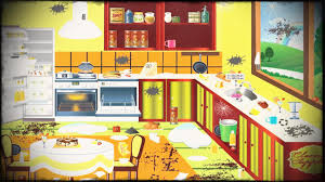 Cleaning Game Sparkling Clean Kitchen Clipart Clipground