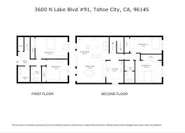 5x8 Bathroom Floor Plan by 3600 North Lake Boulevard 91 North Laketahoe Tahoe City Ca