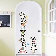 yumimi88 panda tier wandaufkleber wandtattoo