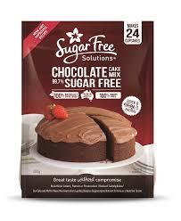 Sugar Free Chocolate Cake Mix 450g Sugar Free Solutions