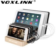 le de bureau usb voxlink charge rapide 3 0 8 ports station de recharge 5 v 12a usb