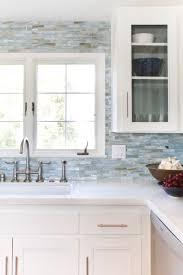 glass mosaic backsplash agate in lucca pearl by lunada bay tile