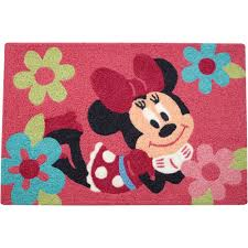 Mickey And Minnie Mouse Bath Decor by Disney Minnie Mouse Rug Walmart Com
