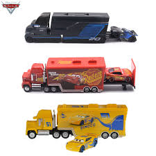 100 Lightning Mcqueen Truck Disney Pixar Cars 2 3 Metal Diecast Car Toys McQueen