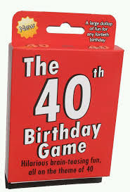 40th Birthday Decorations For Him by Amazon Com The 40th Birthday Game Fun New Gift Or Party Idea