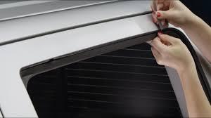 100 Truck Rear Window Guard Side Deflector Channel Clip Installation On 2017 Chevy