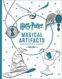 Image Is Loading NEW Harry Potter Magical Artifacts Coloring Book By