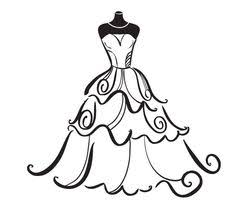 Wedding Dress Clip Art & Wedding Dress Clip Art Clip Art