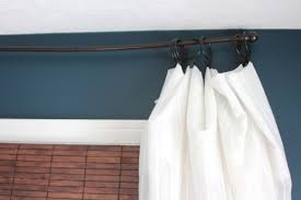 Curtain Rod Extender Diy by Diy Curtain Rods Shine Your Light