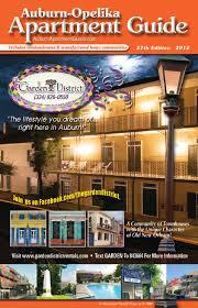 One Bedroom Apartments Auburn Al by Auburn Opelika Apartment Guide By Jim Andrews Issuu